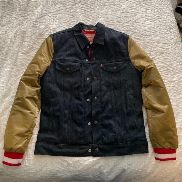 San Francisco 49er's Levi's Denim Jacket